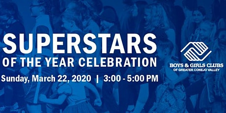 2020 Superstars of the Year Celebration-FREE tickets