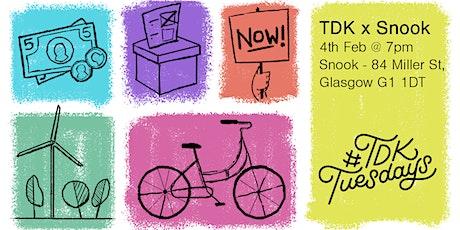 TDK Glasgow × Snook tickets