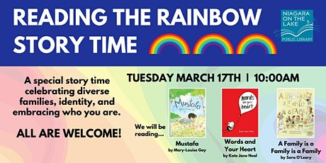 Reading the Rainbow Story Time tickets