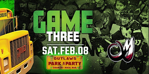 Outlaws Park and Party Rush Vs Colorado Mammoth