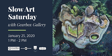 Slow Art Saturday, with Gearbox Gallery tickets
