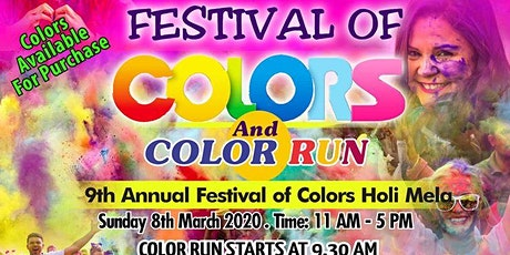 Dallas Festival of Colors - HOLI MELA  tickets