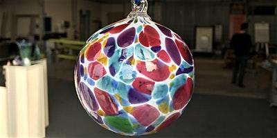 Blow your own Hot Glass Ornament with Indiana Artisan: Lisa Pelo