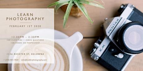 Digital Photography Class - 101 tickets