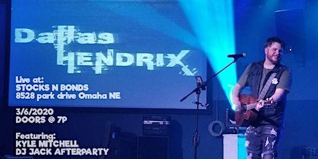 Dallas Hendrix LIVE! @ Stocks N Bonds Omaha tickets