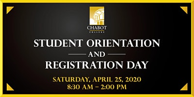Student Orientation and Registration Day