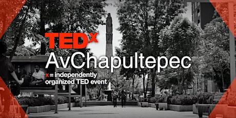 TEDx AvChapultepec entradas
