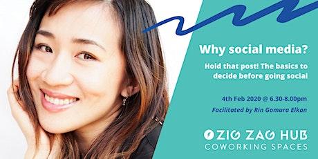 FREE Social Media Workshop  @ Zig Zag Hub tickets