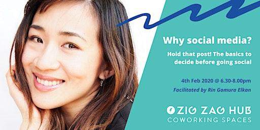 FREE Social Media Workshop  @ Zig Zag Hub