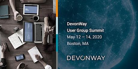 DevonWay User Group Summit tickets