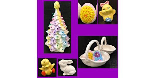 """Paint & Go Spring Ceramics"" Open Paint (6yrs+)"