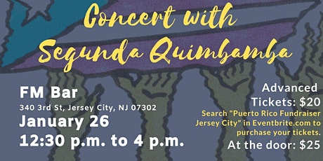 Puerto Rico Fundraiser Concert with Segunda Quimbamba tickets