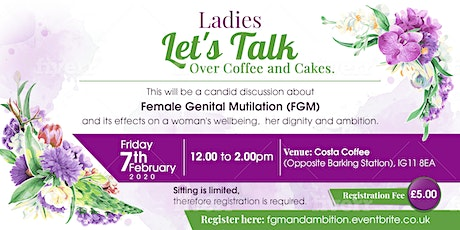 Lets Talk Ladies: FGM, Health and Ambition tickets