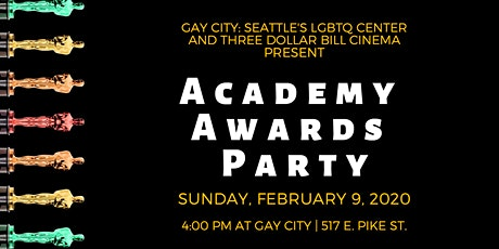 2020 Academy Awards Party tickets