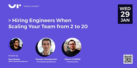 Hiring Engineers When Scaling Your Team from 2 to 20 tickets