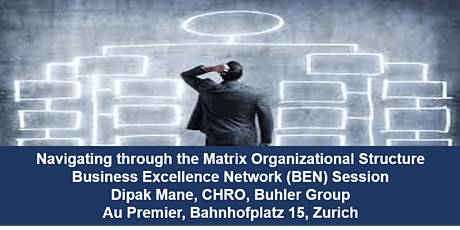 Navigating through the Matrix Organizational Structure tickets