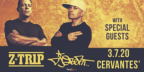 Z-Trip and DJ Qbert w/ Special Guests tickets