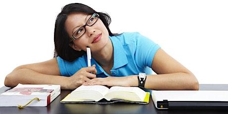 Improving your studies workshop tickets