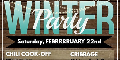WINTER PARTY AND CHILI COOK OFF