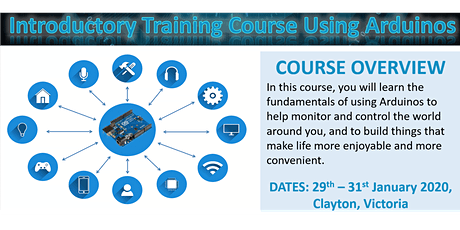 Arduino / IoT Training Course tickets