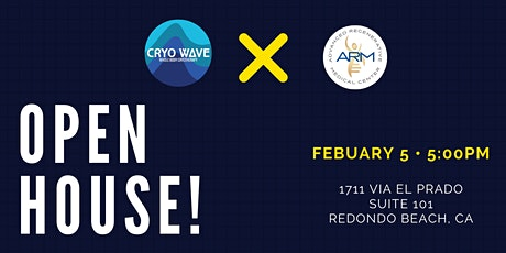 Cryo Wave X Arm Center Presents: Open House tickets