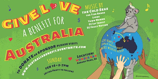 GIVE LOVE: A  Benefit Show for Australia