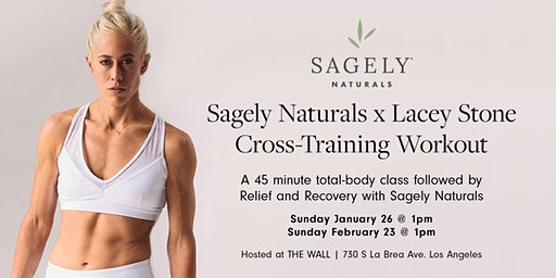 Sagely Naturals x Lacey Stone Cross-Training Event