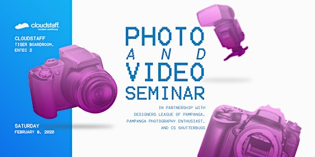 Photo and Video Seminar tickets