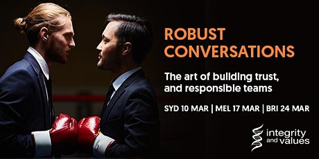 Robust Conversations - Sydney tickets