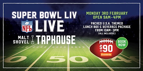 Super Bowl LIV Live at Malt Shovel Taphouse Adelaide tickets