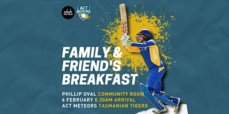 ACT Meteors Family & Friend's Breakfast tickets