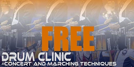 FREE Renaissance Percussion Drum Clinic - Concert & Marching Techniques