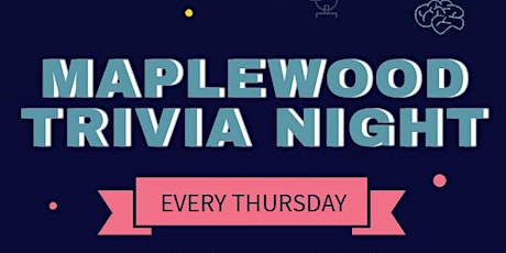 Thursday Night Trivia at Maplewood Taphouse tickets