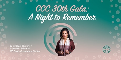 CCC 30th Anniversary Gala tickets