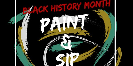 L!VE SUA Black History Month Paint and Sip tickets