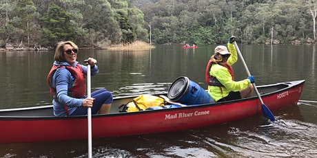 Women's Overnight Canoe Trip: Shoalhaven Gorge // November 7th-8th tickets