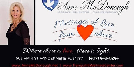 Messages of LOVE From Above-Connect with	LOVE tickets