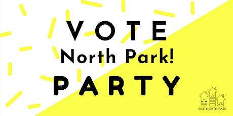 Vote North Park! Party tickets