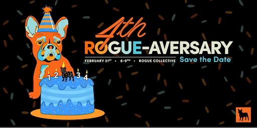 Rogue Creatives' 4th Birthday Party