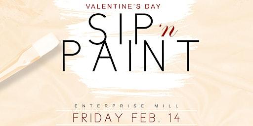 Couple's Sip 'n Paint