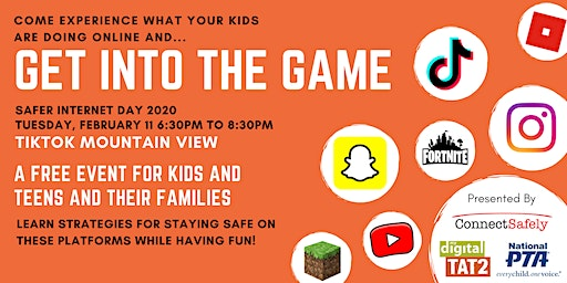 Get Into the Game:  Safer Internet Day 2020
