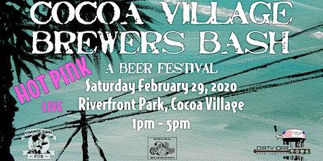 Cocoa Village Brewer's Bash tickets