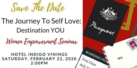 The Journey To Self Love: Destination YOU tickets