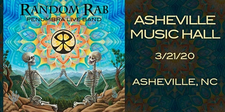 Random Rab & The Penumbra Live Band | Asheville Music Hall tickets