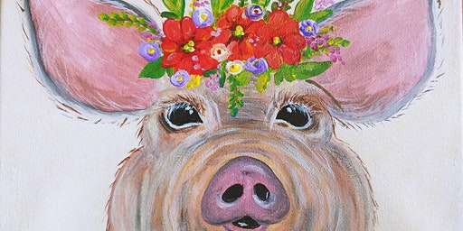 Paint & Sip - Miss Pig