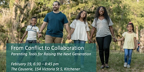 From Conflict to Collaboration: Parenting Tools for Raising the Next Gen tickets