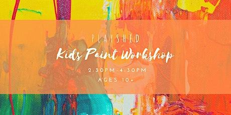 Kids Paint Workshop tickets