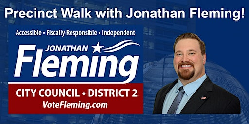 Precinct Walk with Jonathan Fleming for SJ City Council D2!