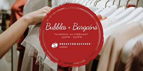 Bubbles & Bargains tickets