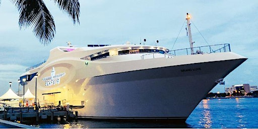 Miami New Year's Eve Fireworks - Gatsby's Yacht Party 2021